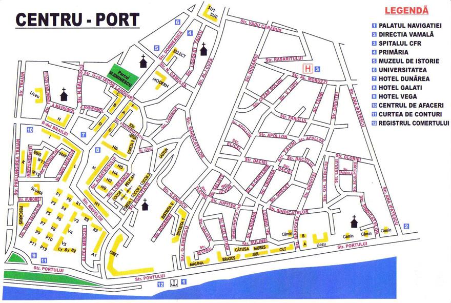 Harta Judetului Galati 70x100 Cm Sipci Plastic Emag Ro